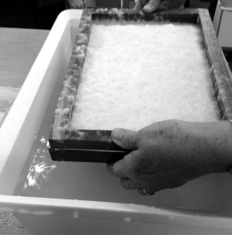 A papermaking workshop with Jane Ponsford